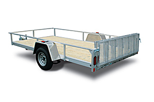 Open Bed Utility Trailers