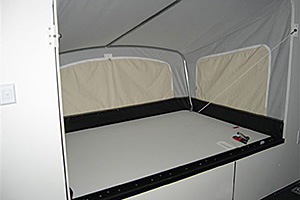 "(2) 78"" x 48"" Fold-Out Bunks"