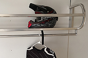 "48"" Helmet Shelf"