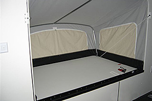 Fold-Out Bunk (interior view)
