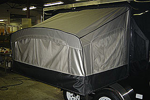 Fold-Out Bunk (exterior view)