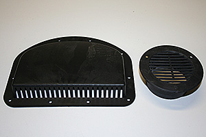 Small Plastic Sidewall Vents