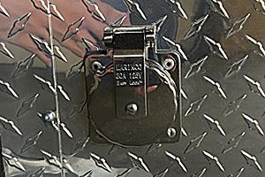 Stainless 30amp Motorbase Plug