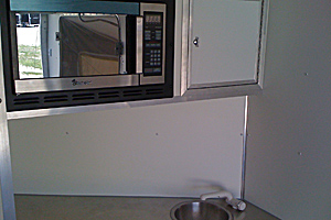 Sink and Microwave pkg,