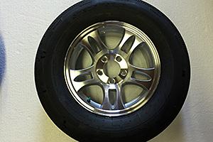 15″ Aluminum Wheels