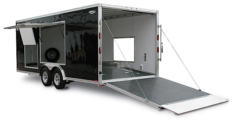 Enclosed Car Hauler Trailers Car Trailers By Lightning